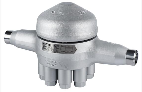 BK 212 sarjasta löytyvät poistimet aina paineluokkaan PN 630 saakka. Todellisia korkeapainepoistimia koviin paineisiin ja korkeille lämpötiloille