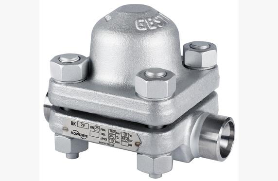 BK 29 on korkeapainelauhteenpoistin, jonka paineluokka on PN 160