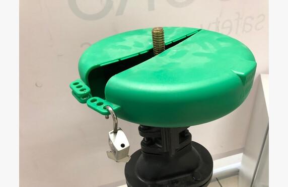Venttiilin käsipyörän sulkukotelo